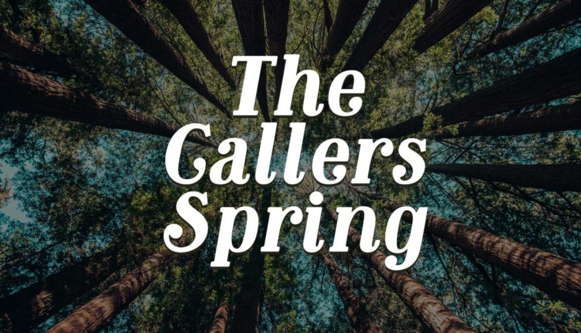 The Callers Spring Banner