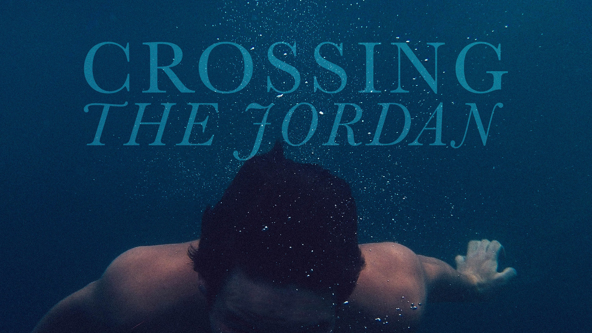 Crossing the Jordan Series Banner - Picture of Boy in the Ocean