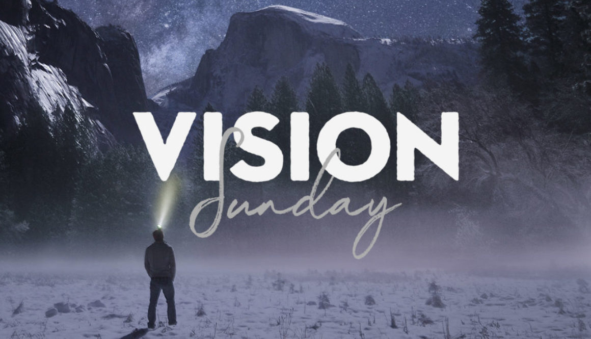 Vision Sunday - Picture of Man In A Snowy Landscape